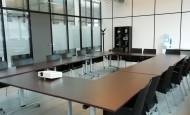 Hazemeijer zaal ca. 48 m2 / opstelingen: Theater ca. 35p, Carré ca. 28p, U-vorm ca. 25p